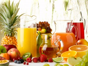 Les jus de fruits